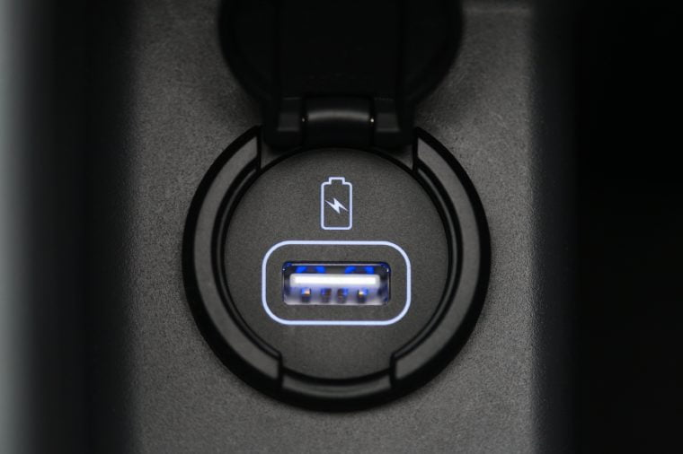Car interior car usb charger detail 760x506 - Never Charge Your Phone in these Places