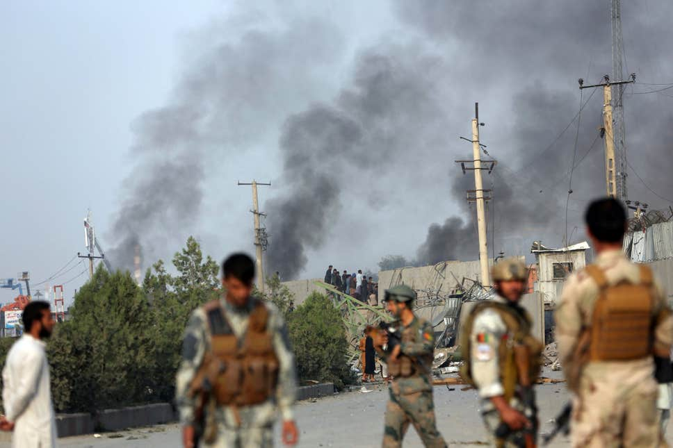 kabul explosion - Hours after US-Taliban Deal; At least 16 Dead in Suicide Attack