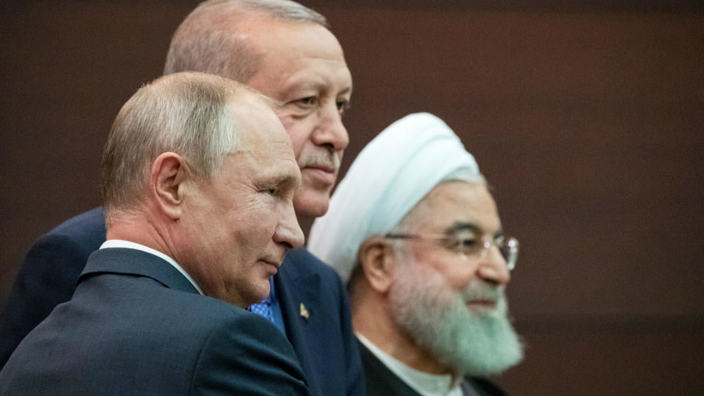 trilateral commission - Russia, Turkey and Iran Agree to Move Toward New Constitution for Syria