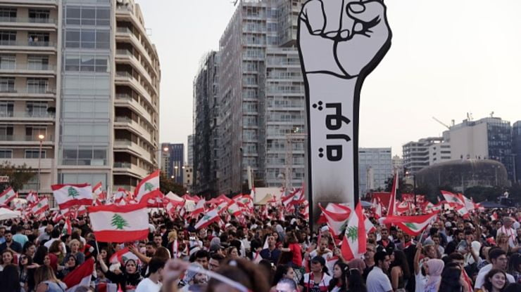 106206378 1572241343769gettyimages 1178449466 - Lebanon's government needs to show a 'resolve for the state to function'