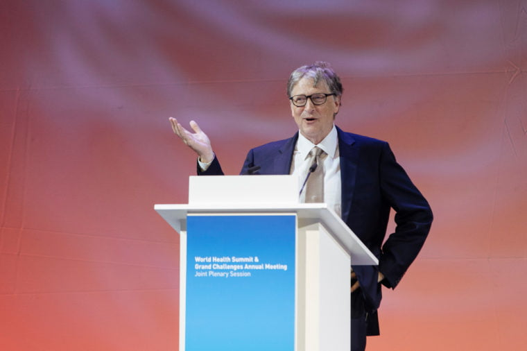 10th world health summit berlin germany 16 oct 2018 760x506 - 8 Pieces of Advice Bill Gates Would Give His Younger Self