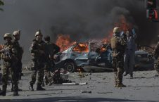 170531093938 03 kabul bomb attack 0531 super 169 226x145 - Bomb Kills Three Police, Injures 36 Children In East Afghanistan