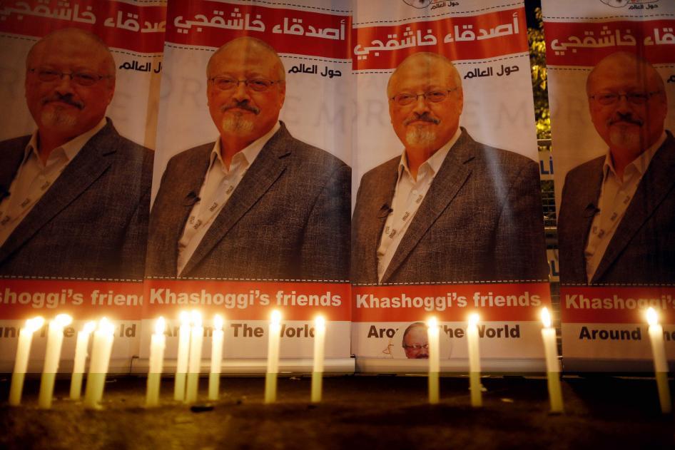 201901wr saudiarabia human rights - Saudi Arabia: Provide Justice for Khashoggi Killing