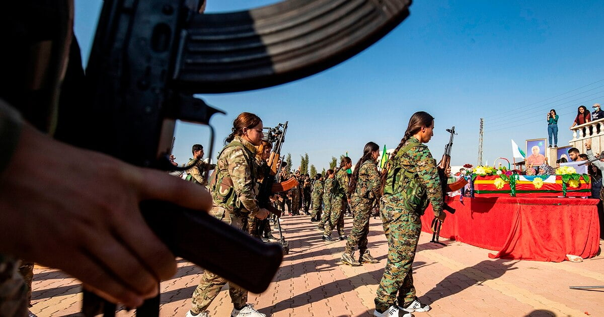SOM7H7NWRRH2VPNTMUPCAGPTJQ - Kurds had back Channel open to Syria, Russia over fears of U.S. pullout: officials