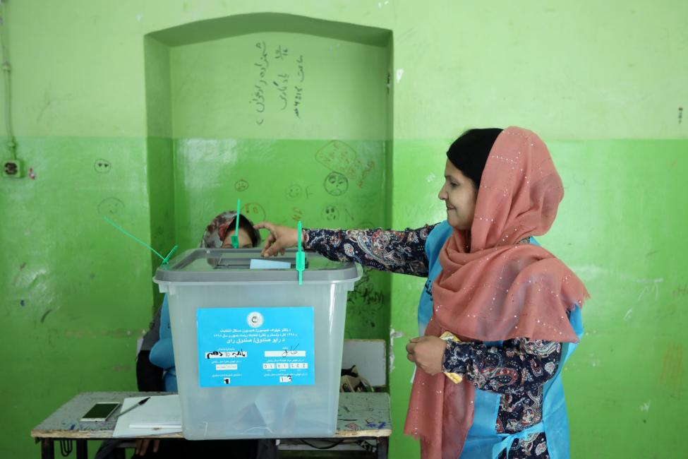Votes still being counted in Afghanistan presidential election - Votes still being Counted in Afghanistan Presidential Election