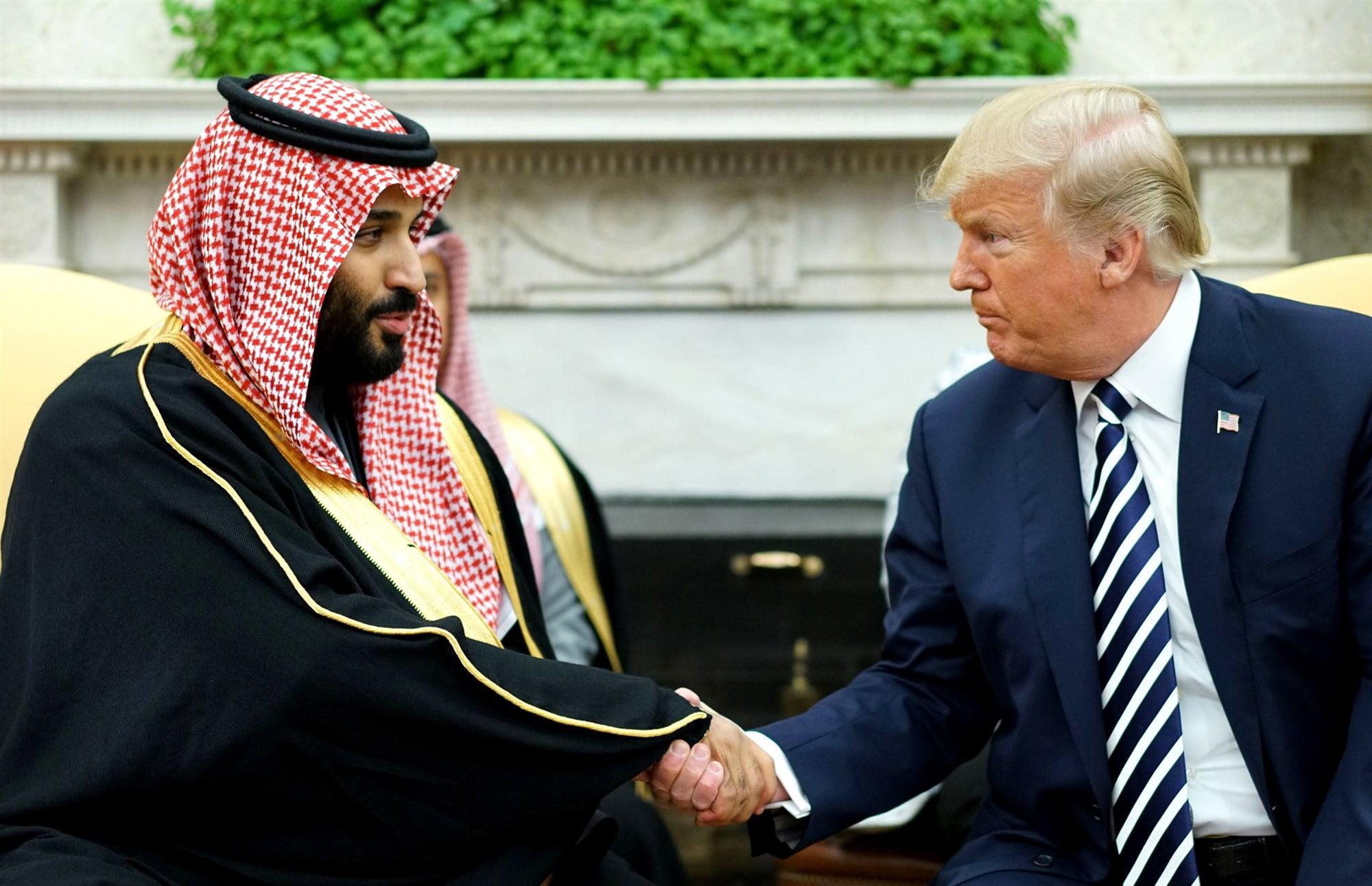 181211 donald trump mohammed bin salman cs 509p 1dd20bf36279d7c60140ce548c8d34ab.fit 2000w - Human Rights Group Slams Saudi Arabia for Crackdown on Dissent