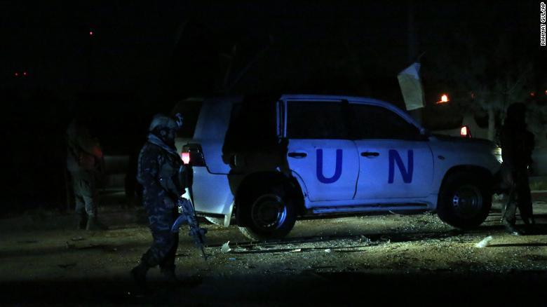 191124135209 01 kabul un vehicle 1124 exlarge 169 - One Killed, Five Hurt in Afghanistan Blast Targeting UN Personnel