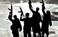 20041553 silhouette of several muslim militants with rifles 226x145 - Islamic State Staggers in Afghanistan, but Survives