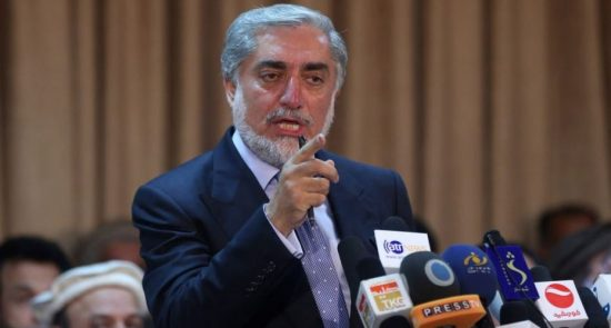 Abdullah Abdullah 550x295 - Abdullah to Boycott Recount Process in Afghanistan Election