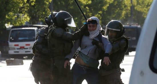 587100ce9a7e4b0690f096f906ac6959 18 550x295 - UN Chile's Police Accused of Human Rights Abuses