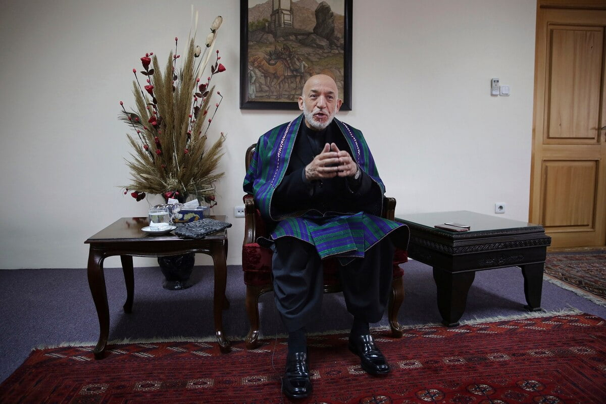 F7YVJJCX4RDY3MAEV6I6QDUYVU - US Money Spending in Afghanistan Brought Nothing but Corruption for the Nation, Karzai