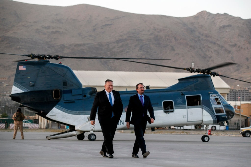 06dc ambo1 jumbo - U.S. Envoy to Afghanistan Steps Down Saying the Job is Very Stressful