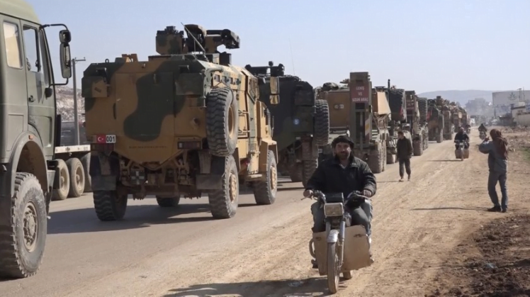 689 - Turkey Armors the Syrian Border, 300 Other Trucks and Vehicles Conveyed