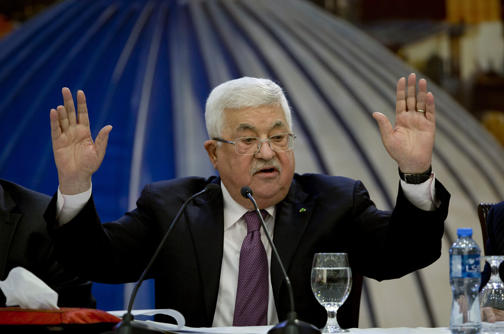 AP 20028745814897 - Palestinian Leader Says He is Cutting Ties with US and Israel over Trump's Peace Deal