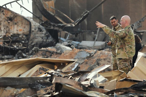 Al Asad Iraq damage 3200 - Brain Injuries of US Forces in Afghanistan Highlight Military's Failure to Care for its Own