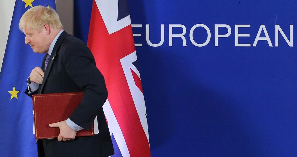 Capture - UK Left the European Union