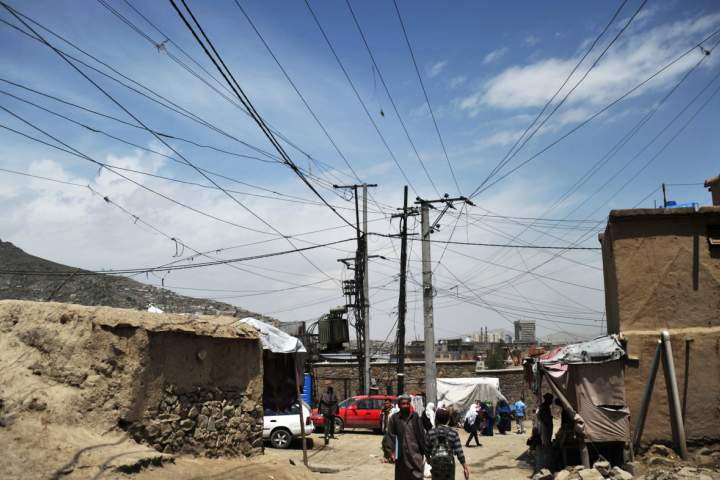 n00203075 b - 65% of Afghanistan Citizens Deprived of State Electricity