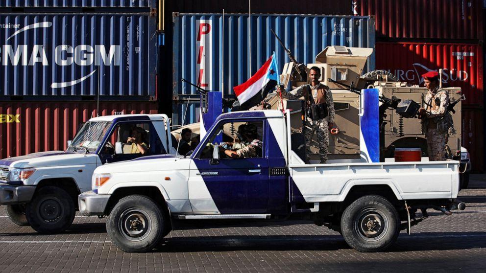 WireAP 8304ff34dc524f4f8cdf2397d4089c82 16x9 992 - Saudi Coalition Urges Yemen Separatists to Honor Riyadh Deal