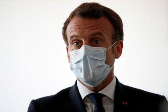 image kcn21x0f0 - Macron Secured UN's Ceasefire Plan to Let World Focus on Coronavirus