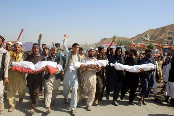 merlin 157700880 97a5433e a479 4916 8d5e 2a5e50e17bdc articleLarge - UN Reports More Than 500 Civilians Died In Afghan Violence In First Quarter