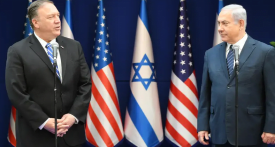 Capture 1 550x295 - Pompeo to Visit Israel on Wednesday: China Likely to be on Agenda