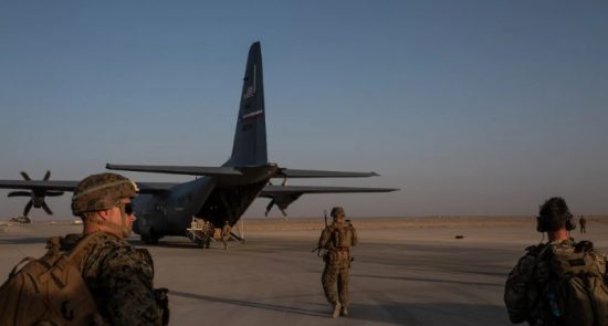 5 1 550x295 - US Cuts 8,600 Troops as Pledged in Peace Deal with Taliban