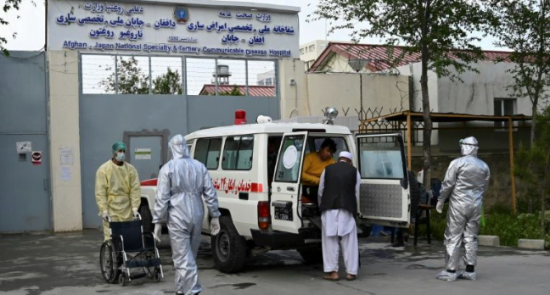 Capture 550x295 - Coronavirus is being Turned into a 'Disaster'in Afghanistan, Cases Surging