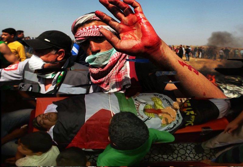 د صهیونیسټي رژيم د پوځ د توپونو په حمله کښې دوه فلسطینیان شهیدان شول