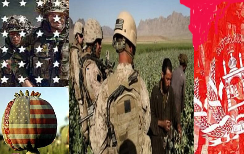 په افغانستان کښې د نشه ايزو موادود توليد زياتيا
