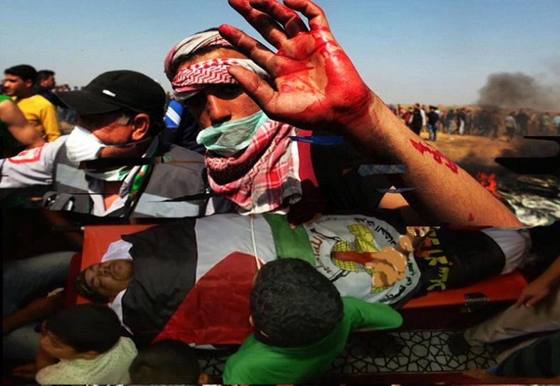 پنځه لس تنه فلسطینیان له صهیوینسټو پوځیانو سره په نښته کښې ژوبل شول