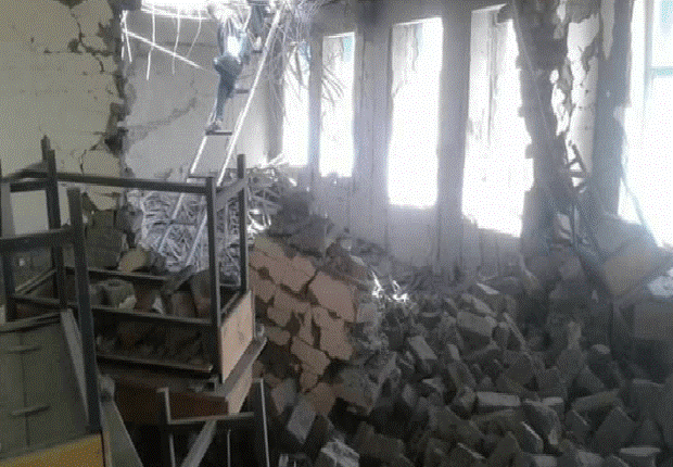 میدان وردګ چارواکي: بهرنیانوښوونځي بمبار کړی