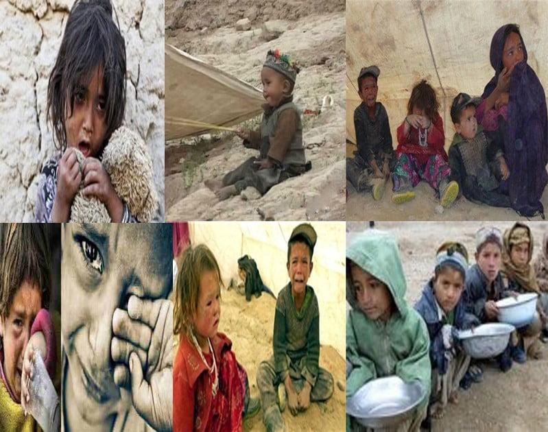 د بشري حقونو د کمیسیون افغانستان کې سل زره ماشومان عاجلې مرستې ته اړ دي