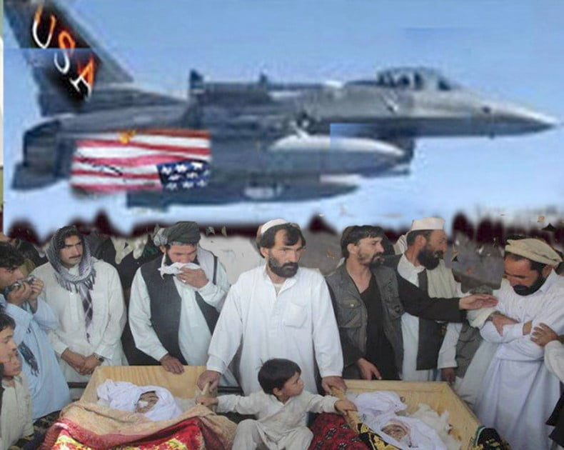 په واده بمبار ۹ ملکیان وژلي