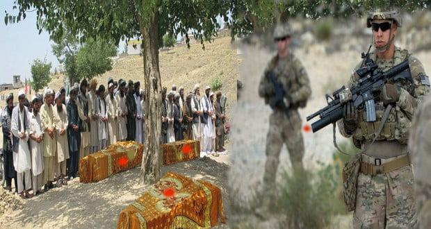 پکتیکا کې امریکایي ځواکونو ۲۱ افغانان په ډزو ووژل