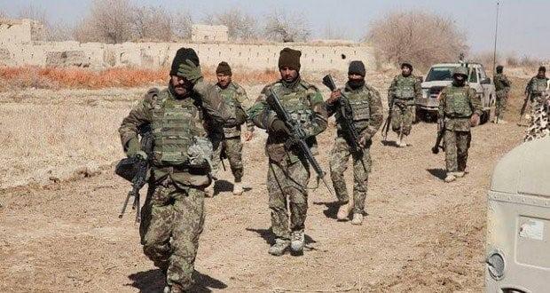 د افغان ځواکونو په ډزو