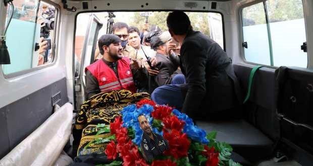 وژل شوی پاکستانی افسر خپلې کورنۍ ته وسپارل شو