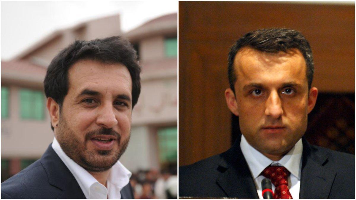 دامرالله صالح اواسدالله خالدترمینځ د کورنیو چارو او دفاع وزارتونو تقسمیدا وزیران