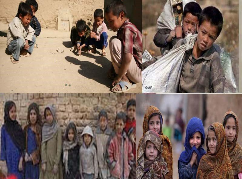په افغانستان کی له زده کړې د بې برخې شویو ماشومانوشمیر