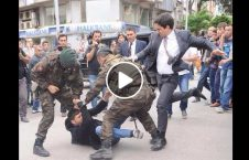 ویدیو/ دترکیې دپولیسووحشی توپ چلند دافغان کډوالوسره