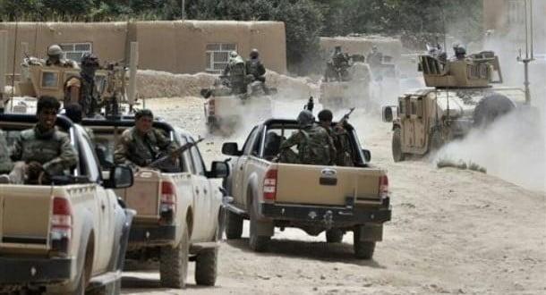 دامنیتی ځواکونو اکمالاتوپر قطار باندی د طالبانو برید
