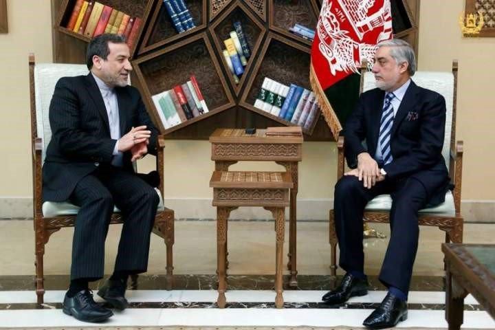 دافغانستان په پلازمنی کابل کی دعبدالله عبدالله او عباس عراقچي خبراتری