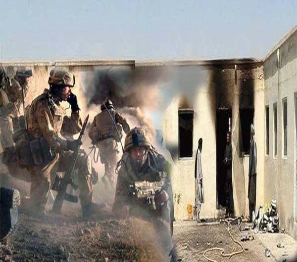 په افغانستان کښې امریکایی ځواګونویومدرسه وسوځوله