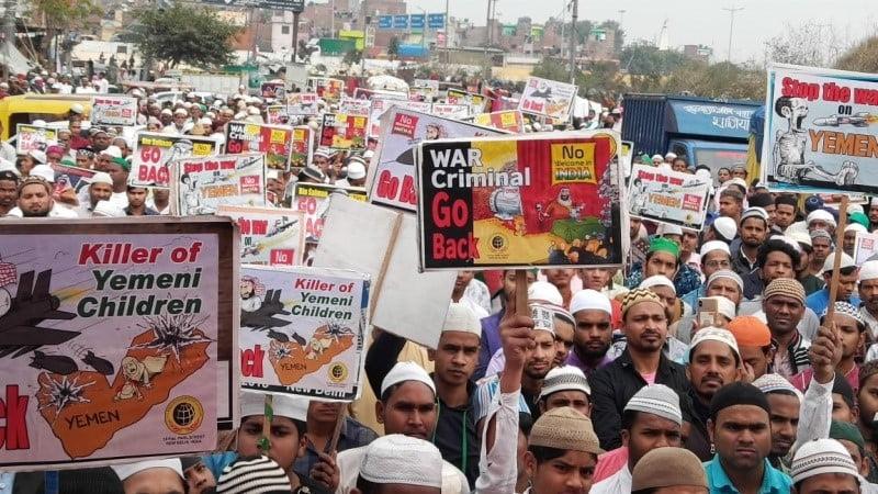 هندوستان ته د سعودي ولیعهد په سفر اعتراض