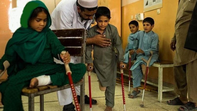 په افغانستان کې ماشومان د ماین چاودنو اصلي قربانیان