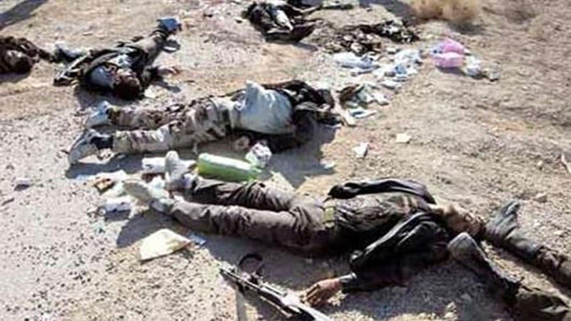 داعش ترهگری ډلګی یولس تنه هلاک شول
