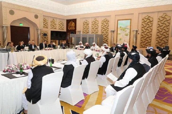 په قطر کې د امریکا او طالبانو خبرې