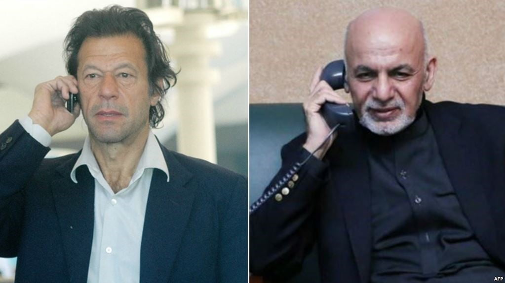د پاکستان لومړي وزیر سره ټلیفوني خبرې
