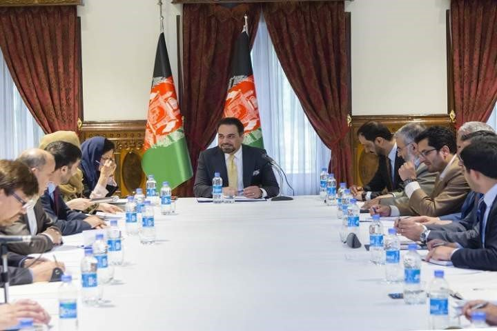 په کابل کې د افغانستان او پاکستان عمل برنامه رهبری کمیتی ناسته