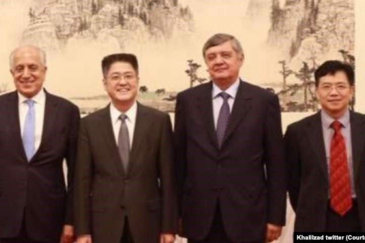 دحکومت او طالبانو ترمنځ د مخامخ مذاکراتو پر پیلېدو دامریکا، روسیې، چین او پاکستان موافقه