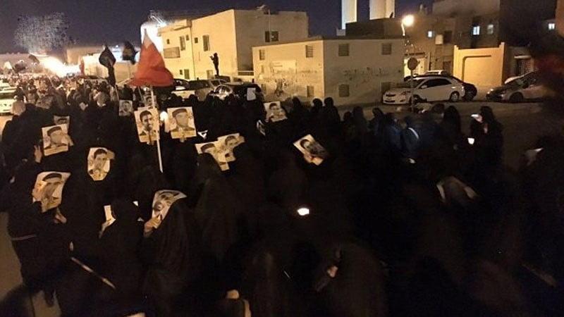 اروپايي اتحادیې د دوو بحریني معترضانو پانسي کول وغندل